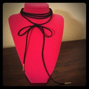 Suede Rope Multi-Wear Choker Necklace